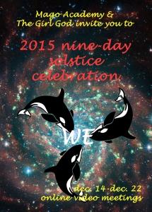 nine day solstice celebrarion poster 2