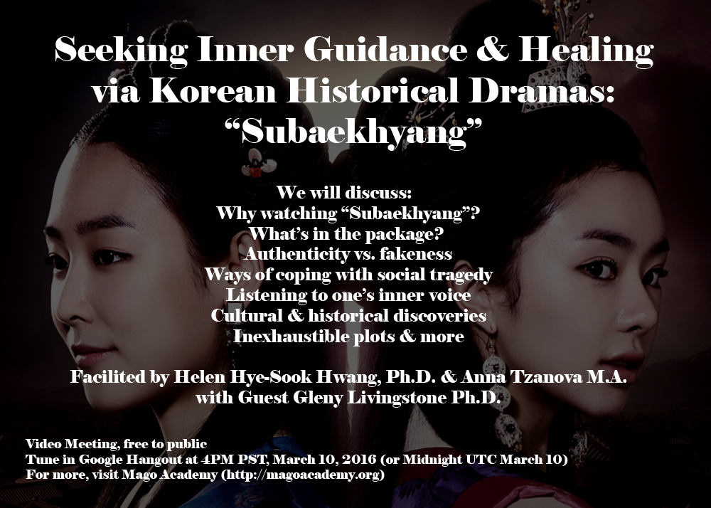 Upcoming Video Meeting for Korean Historical Dramas, free event ...